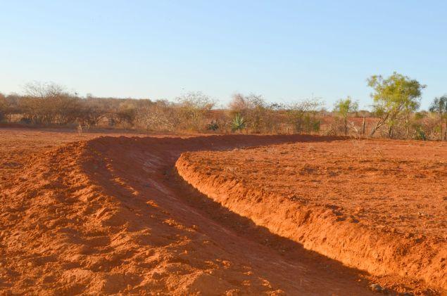 Curva de Nível -para a contenção de águas pluviais